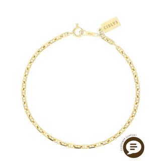 エイミーイストワール(eimy istoire)のCIS LYS Gold chain bracelet (ブレスレット/バングル)