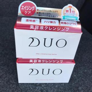 マーキュリーデュオ(MERCURYDUO)の二箱でお買い得!DUOクレンジングバーム90g エイジングケア🐣(クレンジング/メイク落とし)