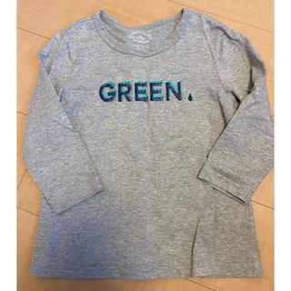 グリーンレーベルリラクシング(green label relaxing)のグリーンレーベル  7分袖カットソー(Tシャツ/カットソー)