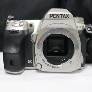ペンタックス(PENTAX)の希少S数3700未満 ペンタックス K-5 シルバー (デジタル一眼)