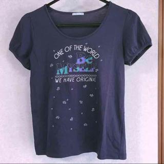 ジーユー(GU)のGU パフスリーブTシャツ(Tシャツ(半袖/袖なし))