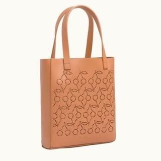 ボンポワン(Bonpoint)の新品 フランス購入品 ボンポワン さくらんぼパンチング レザートートバッグ(トートバッグ)