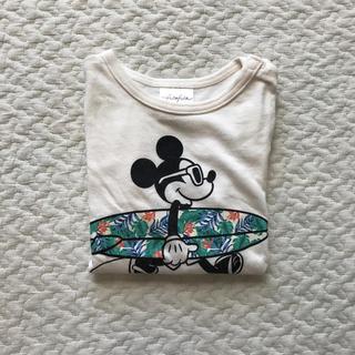 フタフタ(futafuta)のフタフタ futafuta ミッキー Tシャツ (Tシャツ)