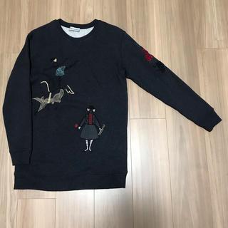 レッドヴァレンティノ(RED VALENTINO)の価格更新! RED VALENTINO 刺繍プルオーバー(トレーナー/スウェット)