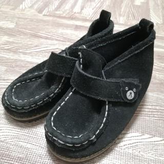 ダブルビー(DOUBLE.B)のDOUBLE B ミキハウス スウェード ブーツ 15cm(ブーツ)