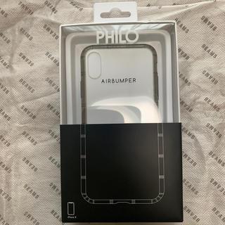 ビームス(BEAMS)のPHILO / AIR BUMPER iPhoneXS・X ケース(iPhoneケース)