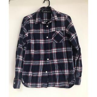 ムジルシリョウヒン(MUJI (無印良品))の無印良品 チェックシャツ 男の子 150(ブラウス)