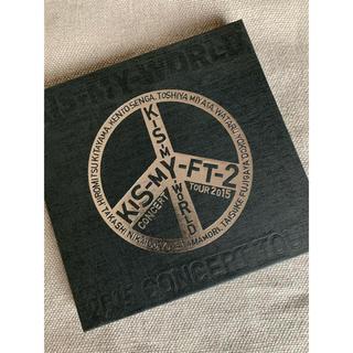 キスマイフットツー(Kis-My-Ft2)のKis-My-Ft2 KIS-MY-WORLD ライブBlu-ray(アイドル)