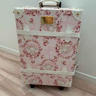 リズリサ(LIZ LISA)のリズリサ マイメロ  キャリーバッグ 未使用品(スーツケース/キャリーバッグ)