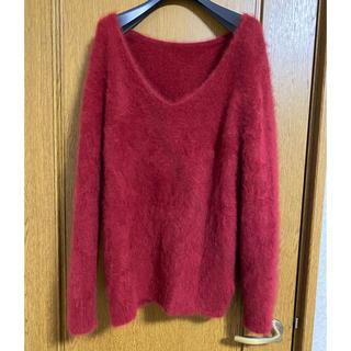 ルカ(LUCA)の未使用新品 レディラックルカ モヘア100%  ニット セーター(ニット/セーター)