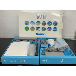 Wii - Wii ウィー 本体 リモコン2個 ヌンチャク1つ
