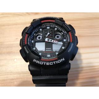 ジーショック(G-SHOCK)の[中古・美品]Gショック G-SHOCK GA-100-1A4 (腕時計(デジタル))