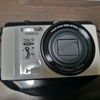 カシオ(CASIO)の美品 ex-fc400s CASIO ゴルフ向けデジタルカメラ(コンパクトデジタルカメラ)