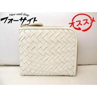 レイジースーザン コインケース カードケース ■ ホワイト レザー (財布)