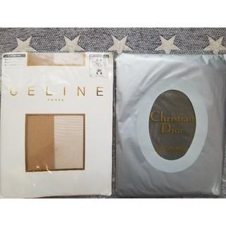 セリーヌ(celine)の【CELINE】【Christian dior】ストッキング2足セット❤️(タイツ/ストッキング)