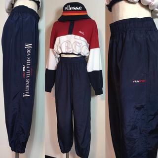 フィラ(FILA)の90s90年FILA SPORTフィラスポーツナイロンパンツFILAジョガー(カジュアルパンツ)