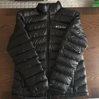 コロンビア(Columbia)のコロンビア ダウンジャケット カラー:ブラック(ダウンジャケット)