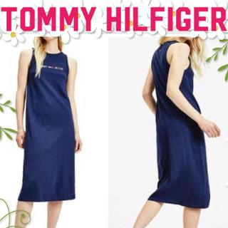 トミーヒルフィガー(TOMMY HILFIGER)のTOMMY HILFIGER   ロゴタンクワンピース 新品✨(ロングワンピース/マキシワンピース)