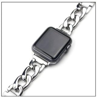 アップルウォッチ(Apple Watch)のアップルウォッチ 全シリーズ対応ベルト シルバー(金属ベルト)