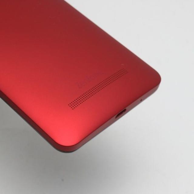 ASUS(エイスース)の美品 SIMフリー ZenFone5 A500KL レッド  スマホ/家電/カメラのスマートフォン/携帯電話(スマートフォン本体)の商品写真