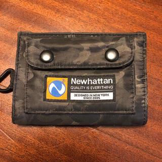 ビームス(BEAMS)のNewhattanとBEAMSコラボ 二つ折り財布(折り財布)