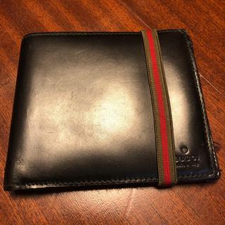 Gucci - GUCCIメンズ二つ折り財布