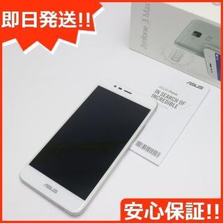 エイスース(ASUS)の超美品 SIMフリー zenfone 3 Max ZC520TL シルバー (スマートフォン本体)