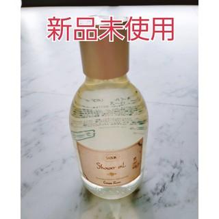 SABON - 新品未使用 サボンシャワーオイル グリーンローズ300ml