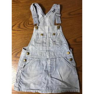 Lee - Lee オーバーオールスカートサイズ100cm