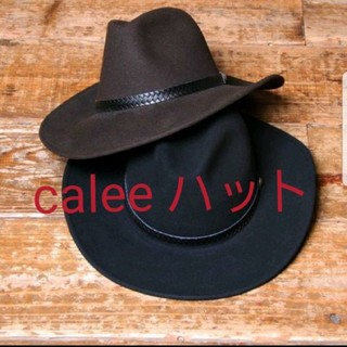 キャリー(CALEE)のCALEE × NEW YORK HAT wool hat(ハット)