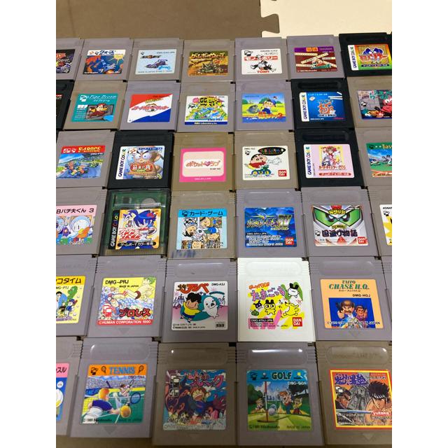 ゲームボーイ(ゲームボーイ)のゲームボーイ 組み合わせも自由④ 3個 987円 5個1480円 エンタメ/ホビーのゲームソフト/ゲーム機本体(携帯用ゲームソフト)の商品写真