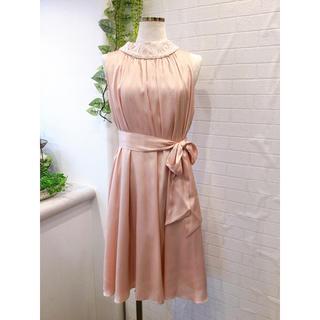 新品タグ付き 定価39600円 結婚式ドレス パーティードレス ピンク