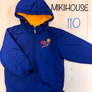 ミキハウス(mikihouse)のミキハウス  裏フリース 中綿 ジャンパー アウター コート 110(コート)