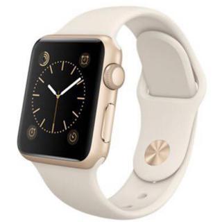 アップルウォッチ(Apple Watch)の新品未開封 Apple Watch 38mm アンティークホワイトスポーツバンド(腕時計(デジタル))