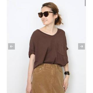 DEUXIEME CLASSE - ドゥーズィエムクラス  SKARGORN スカルゴーン ポケツキワイド Tシャツ