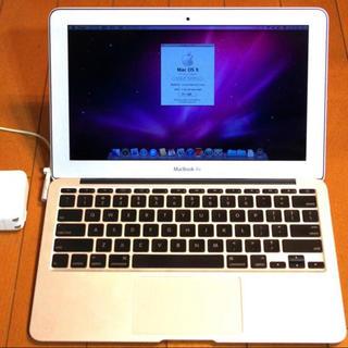 アップル(Apple)のMacBook Air 11インチ Late 2010 US キーボード(ノートPC)