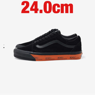 W)taps - WTAPS × VANS OG OLD SKOOL LX 黒 24.0