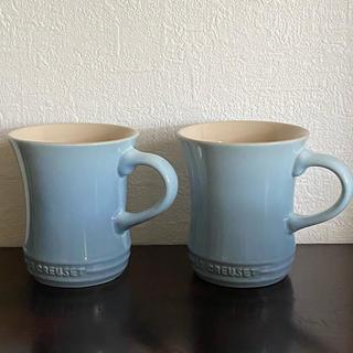 ルクルーゼ(LE CREUSET)の専用ルクルーゼ  マグカップS コースタルブルー(食器)