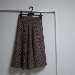 MISCH MASCH - 【新品】ミッシュマッシュ チェックフレアースカート