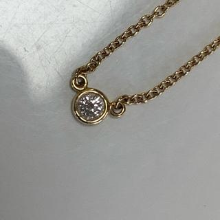 Tiffany & Co. - ティファニー バイザヤード ネックレス 750 1PD