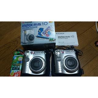富士フイルム - FUJIFILM Instax mini 10 チェキ インスタントカメラ