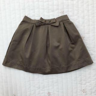 イセタン(伊勢丹)のkisette リボンスカート 80-90cm(スカート)