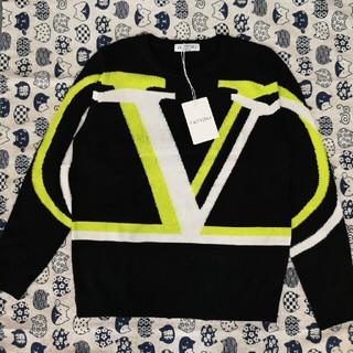 ヴァレンティノ(VALENTINO)の送料無料 Vロゴ ヴァレンティノ セーター Valentino(ニット/セーター)