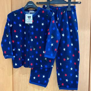 ダブルビー(DOUBLE.B)の新品 ミキハウス ダブルB 長袖 パジャマ 110 長ズボン フリース 100(パジャマ)