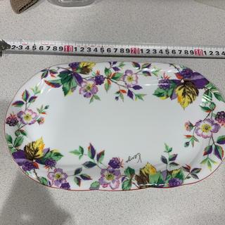 ケンゾー(KENZO)のKENZO 長い皿 プレート 白磁 器 サンドイッチやケーキなどに(食器)