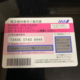 エーエヌエー(ゼンニッポンクウユ)(ANA(全日本空輸))のANA 株主割引券(航空券)