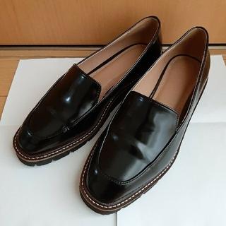 プラステ(PLST)のプラステ フェイクレザーローファー(ローファー/革靴)