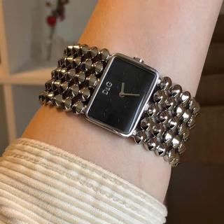 DOLCE&GABBANA - dolce&gabbana腕時計 ドルチェアンドガッパーナ 稼働中 極々美品