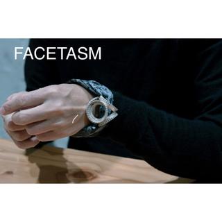 """ファセッタズム(FACETASM)の""""facetasm × Vibe Harslf"""" 超希少Silverブレスレット(ブレスレット)"""