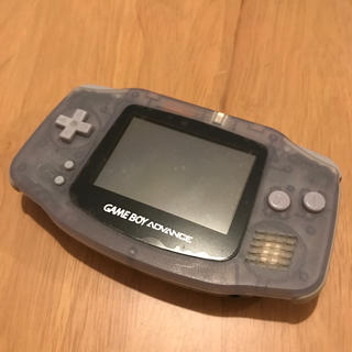ゲームボーイアドバンス(ゲームボーイアドバンス)のゲームボーイアドバンス 本体+カセット付き(携帯用ゲーム機本体)